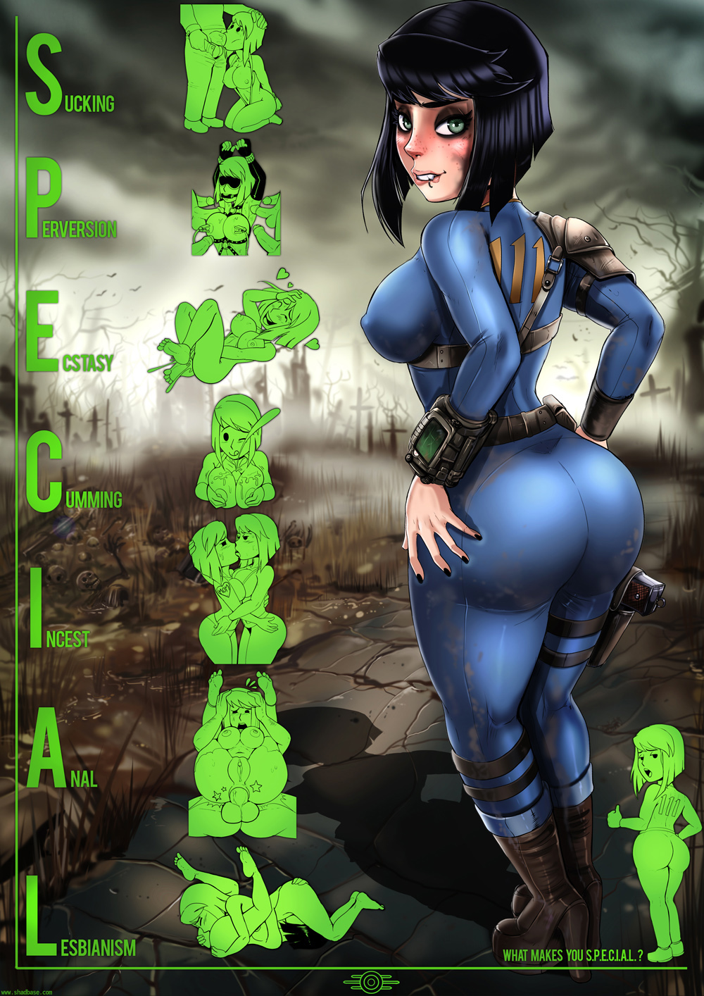 Fallout порно