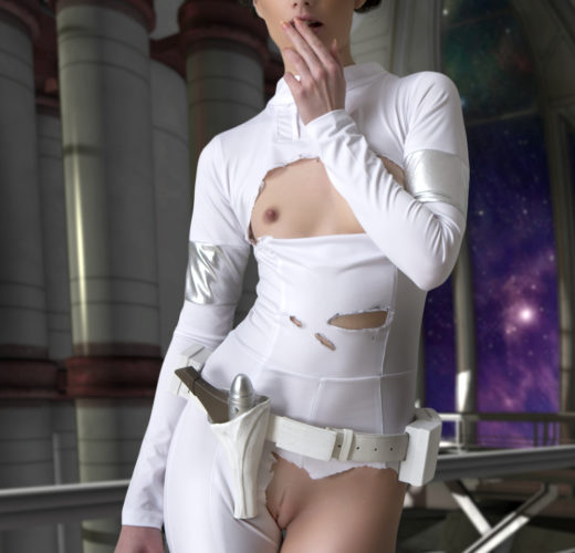 100 Days of Star Wars Porn: Padme and the Practice Bot