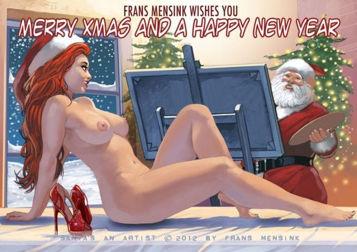 1026841 - Christmas FransMensinkArtist Mrs._Claus Santa_Claus