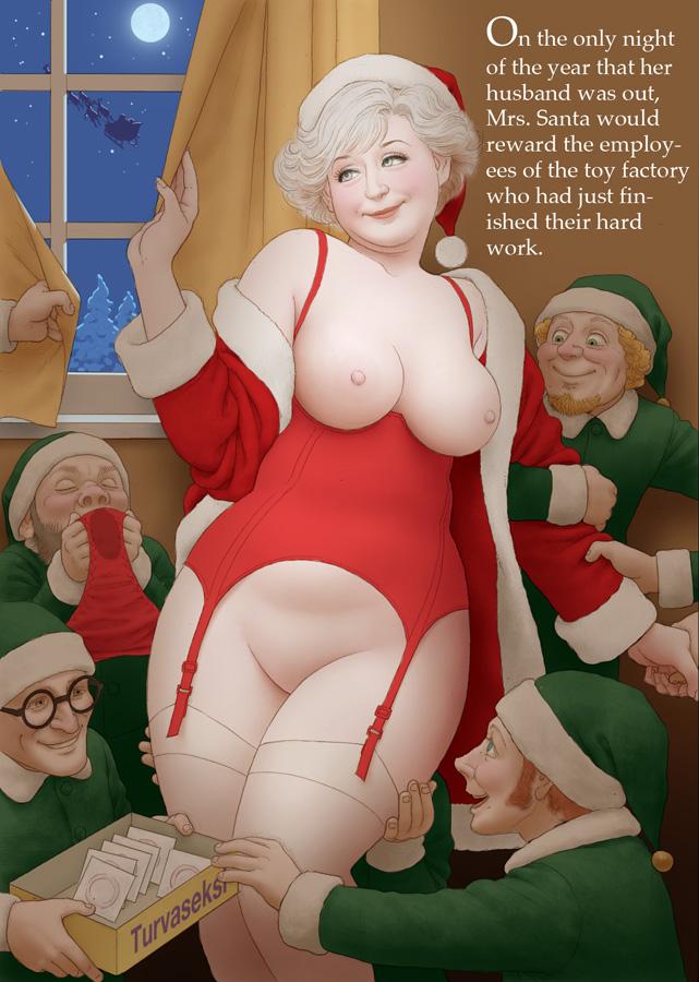 1442624 - Christmas Elf Mrs._Claus Munio