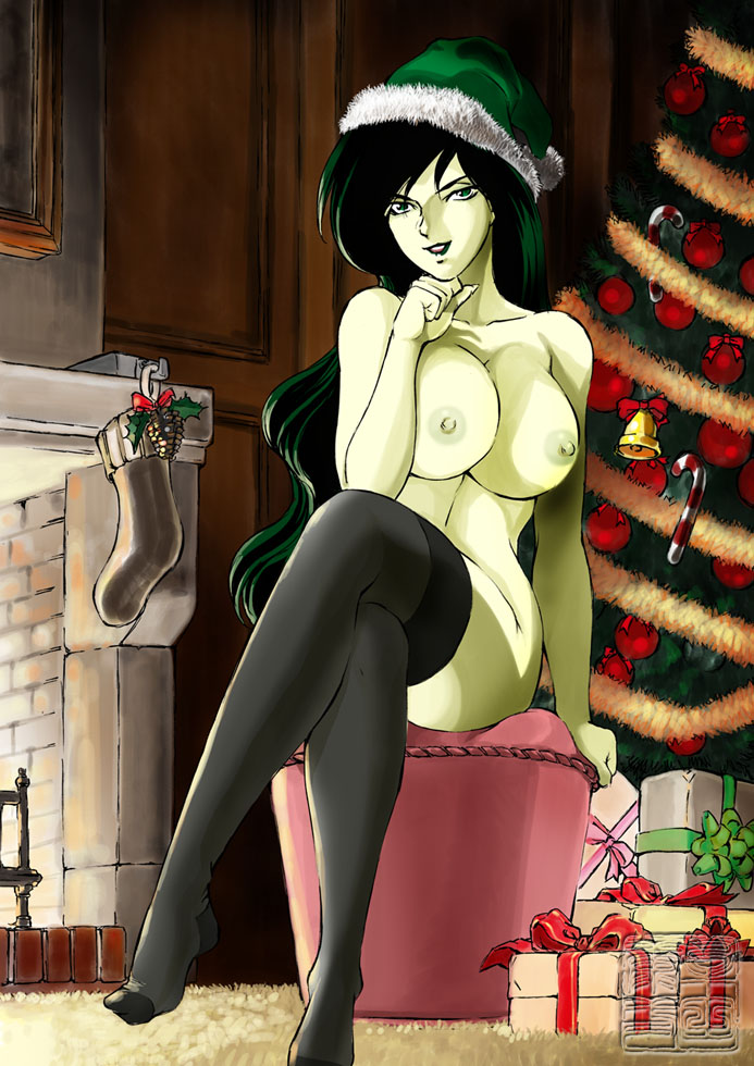 1499186 - Christmas Kim_Possible Shego Shinkaigyo