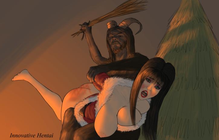 1522289 - Christmas Elvira Elvira_Mistress_of_the_dark InnovativeHentai krampus