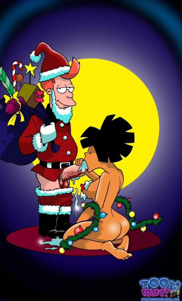 1745679 - Amy_Wong Christmas Fry Futurama Santa_Claus Toon-Party cosplay