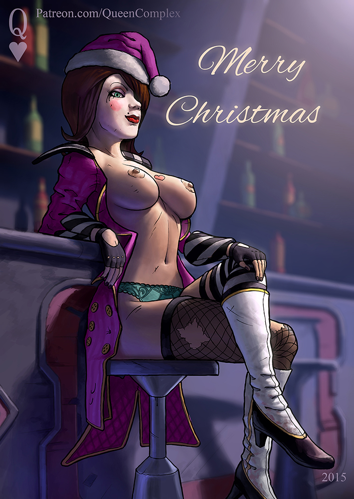 1761142 - Borderlands Christmas Mad_Moxxi QueenComplex