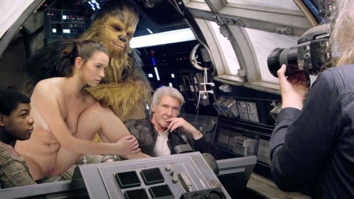 Chewbacca in porn — 6