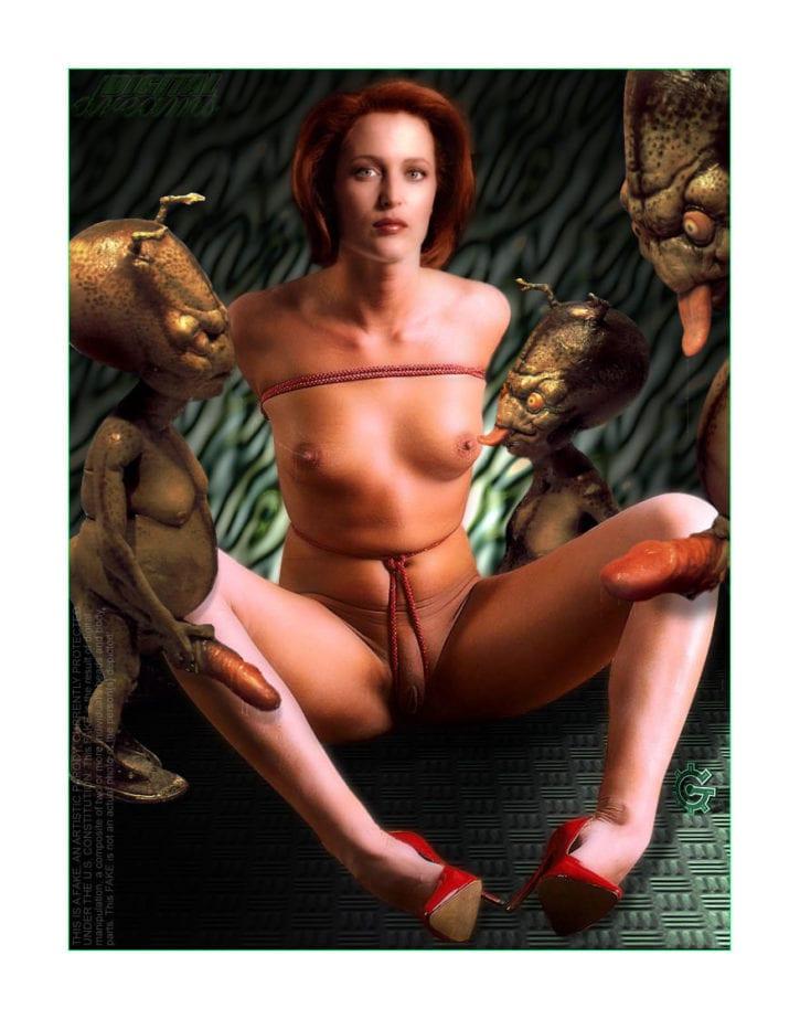 015_009_Dana_Scully Gillian_Anderson X-Files fakes