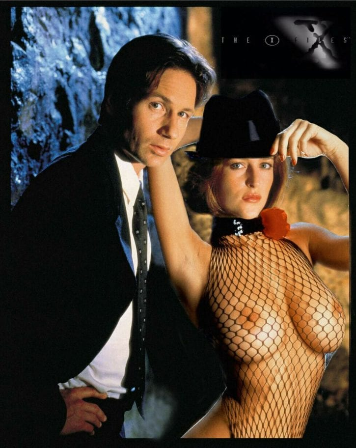 029_002_Dana_Scully Fox_Mulder Gillian_Anderson X-Files david_duchovny fakes
