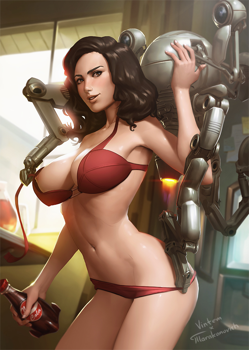 Fallout 4 shooting girls naked nude gorgeous boobs