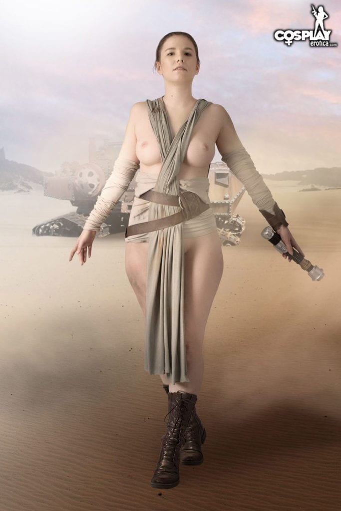 1786376 - Rey Star_Wars The_Force_Awakens cosplay cosplayerotica