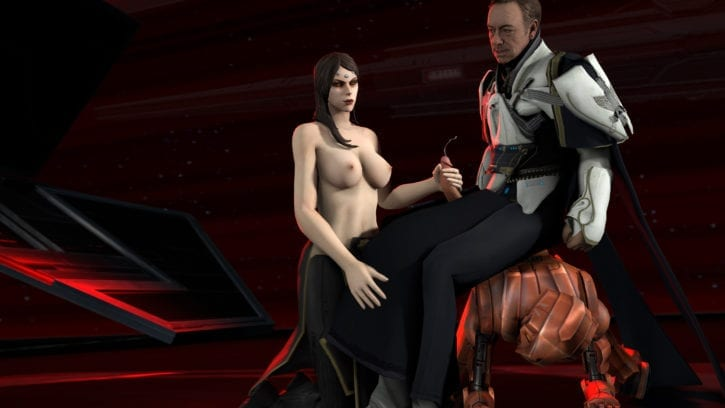 1789268 - Star_Wars The_Old_Republic Vaylin crossover hk-47 kevin_spacey