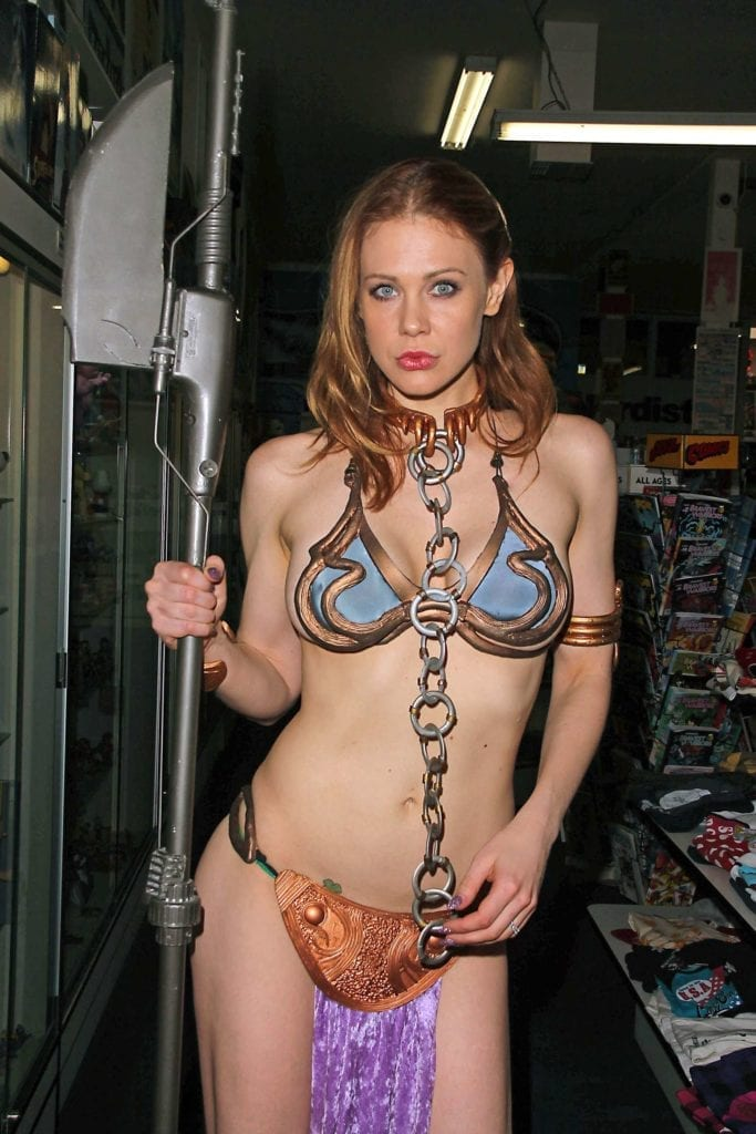 Maitland-Ward_-Princess-Leia-at-Meltdown-Comics-2014--01