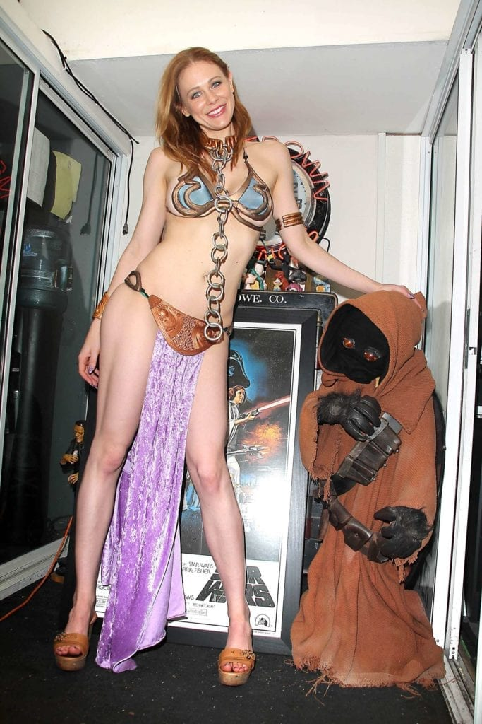 Maitland-Ward_-Princess-Leia-at-Meltdown-Comics-2014--03