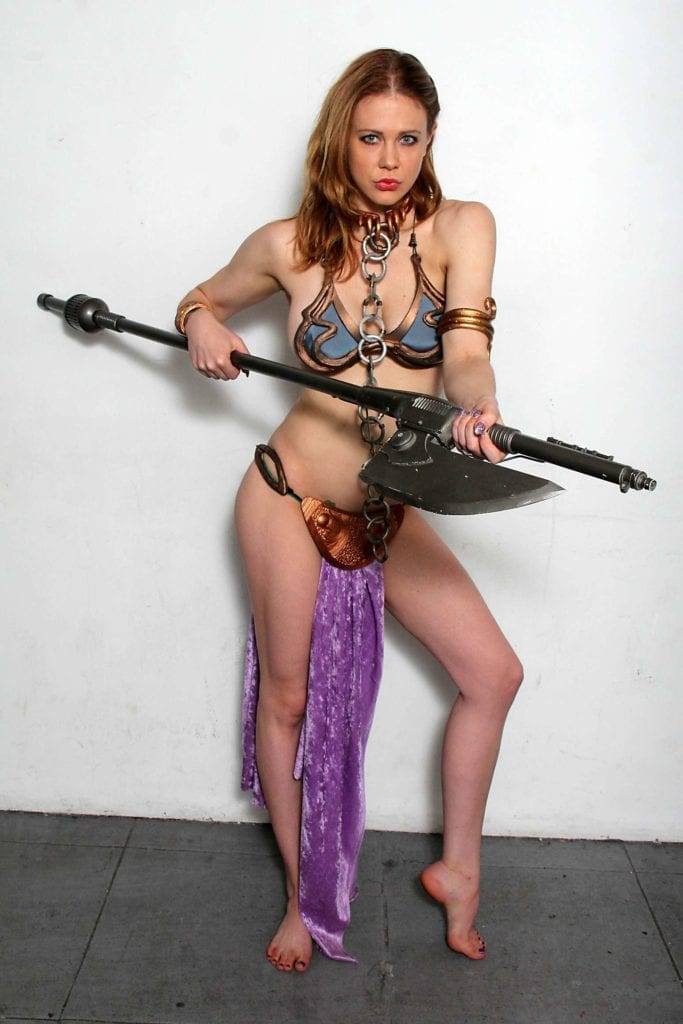 Maitland-Ward_-Princess-Leia-at-Meltdown-Comics-2014--05