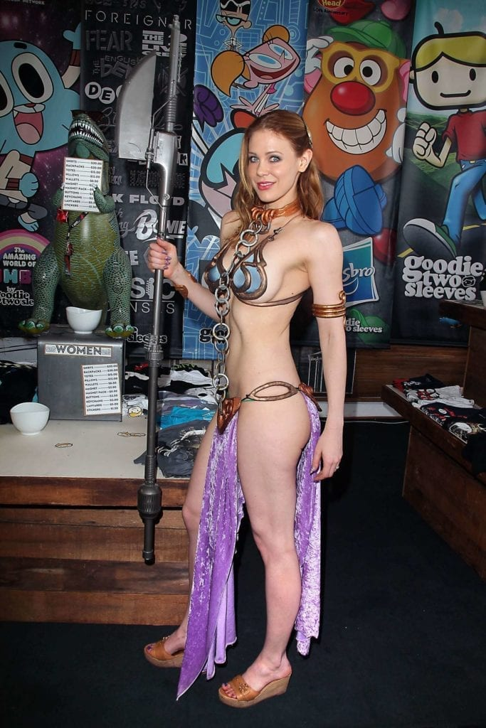 Maitland-Ward_-Princess-Leia-at-Meltdown-Comics-2014--06