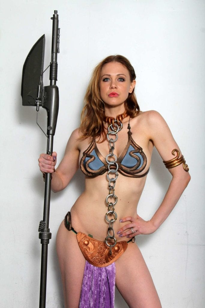 Maitland-Ward_-Princess-Leia-at-Meltdown-Comics-2014--08