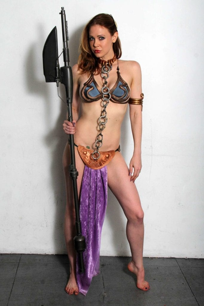 Maitland-Ward_-Princess-Leia-at-Meltdown-Comics-2014--09