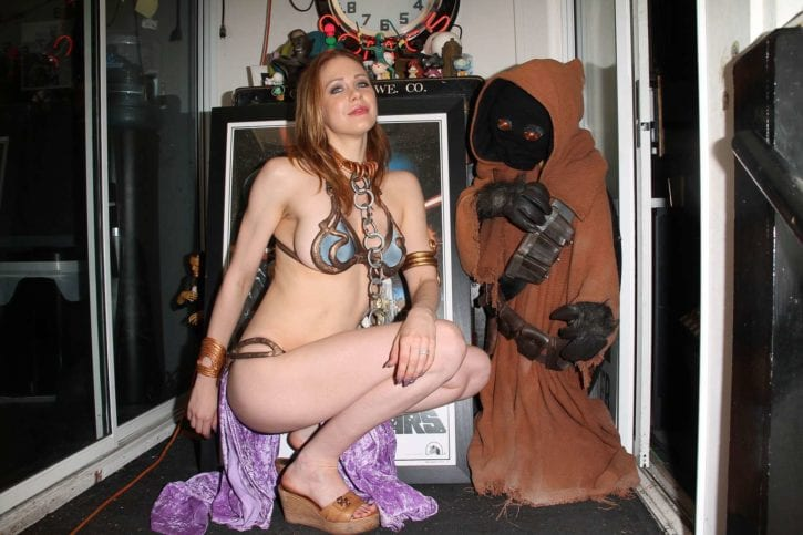 Maitland-Ward_-Princess-Leia-at-Meltdown-Comics-2014--10