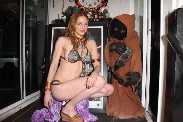 Maitland-Ward_-Princess-Leia-at-Meltdown-Comics-2014--14