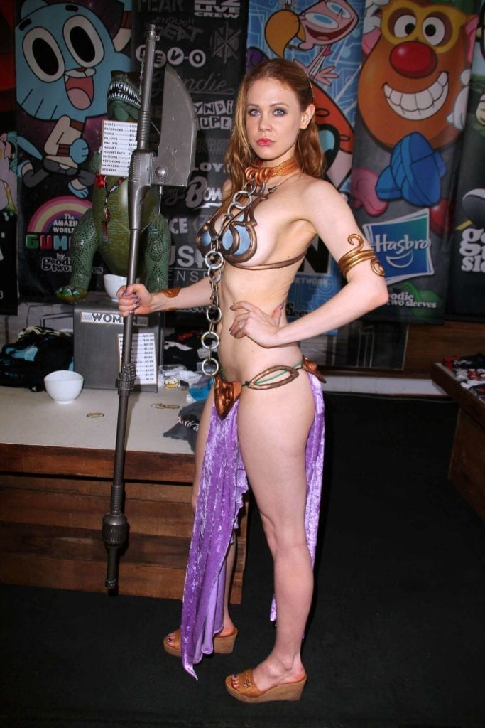 Maitland-Ward_-Princess-Leia-at-Meltdown-Comics-2014--17