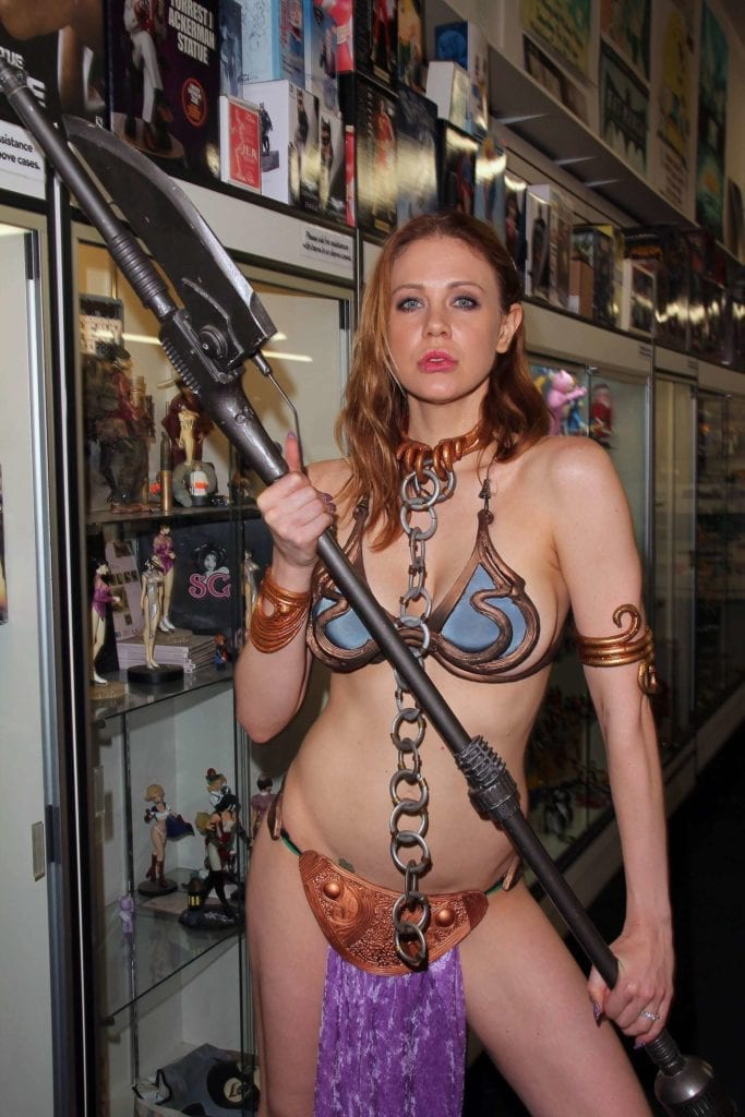 Maitland-Ward_-Princess-Leia-at-Meltdown-Comics-2014--18