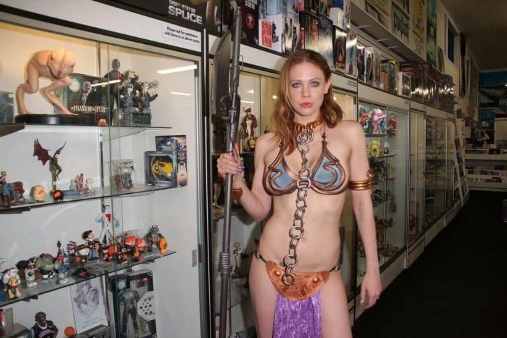 Maitland-Ward_-Princess-Leia-at-Meltdown-Comics-2014--20