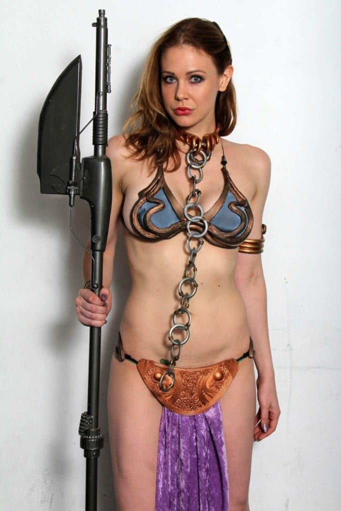 Maitland-Ward_-Princess-Leia-at-Meltdown-Comics-2014--27