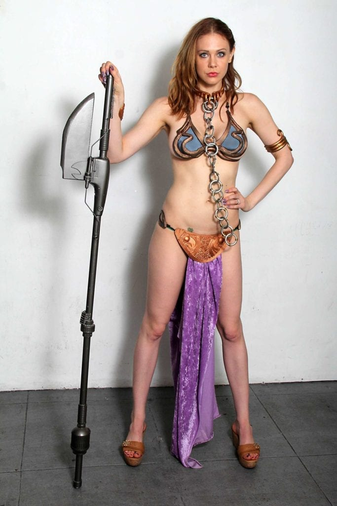 Maitland-Ward_-Princess-Leia-at-Meltdown-Comics-2014--30