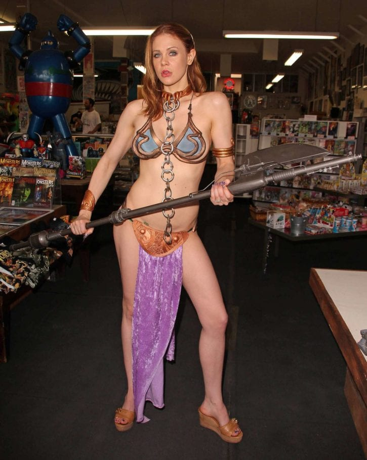 Maitland-Ward_-Princess-Leia-at-Meltdown-Comics-2014--32