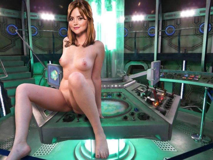 007_Clara_Oswald Doctor_Who Jenna-Louise_Coleman fakes titsarethebest