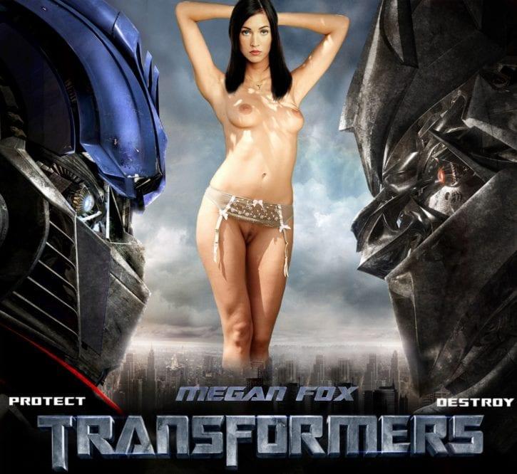 1019405 - Megan_Fox Megatron Mikaela_Banes Optimus_Prime Transformers fakes