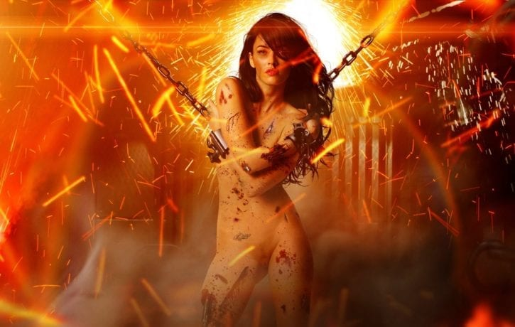 1249279 - Megan_Fox Mikaela_Banes Transformers fakes