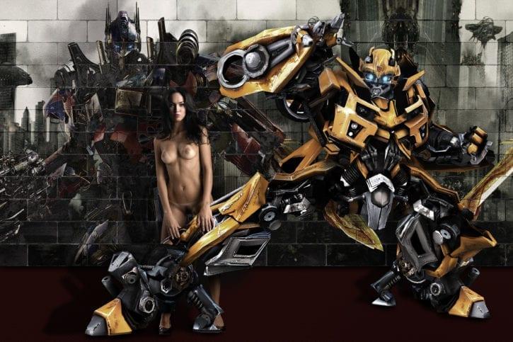 1733102 - Megan_Fox Mikaela_Banes Transformers fakes