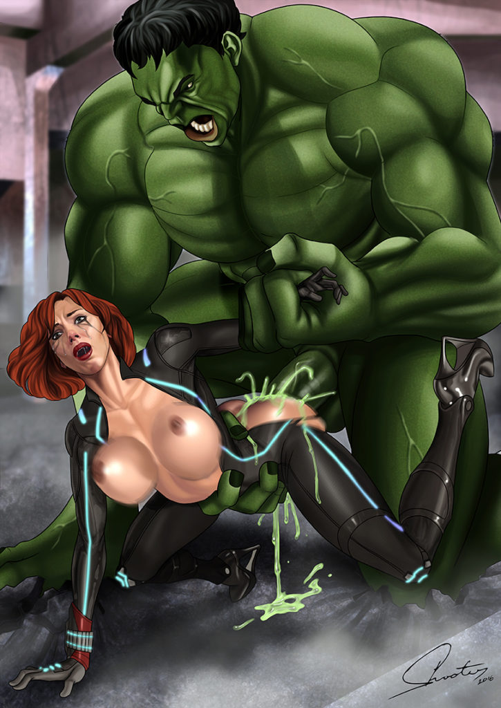 Black widow y hulk hentai prompt reply