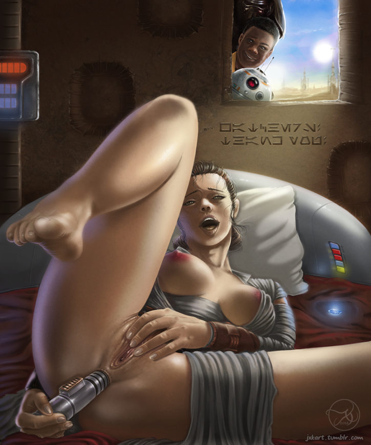 The force awakens porn