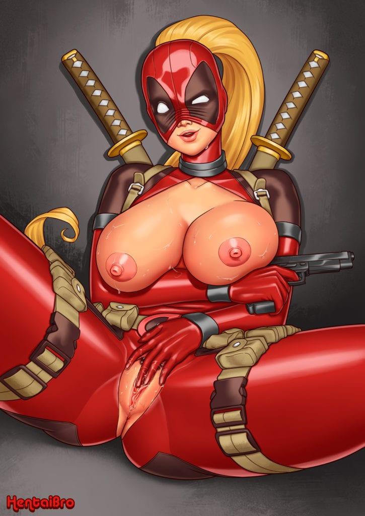 1813337 - Deadpool HentaiBro Lady_Deadpool Marvel