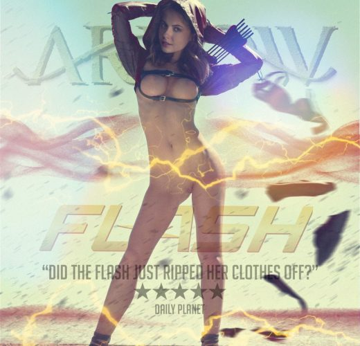 Willa Holland as Thea Queen ~ Arrow/Flash Rule 34 [2 Pics]