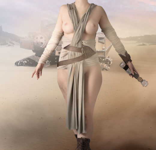 Sexy Rey Cosplay