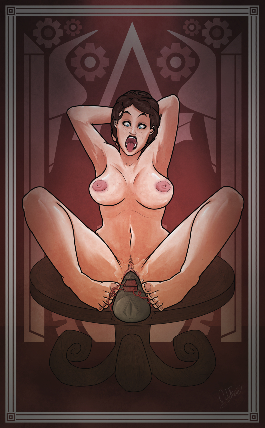 Assassins creed naked sex hentia queen