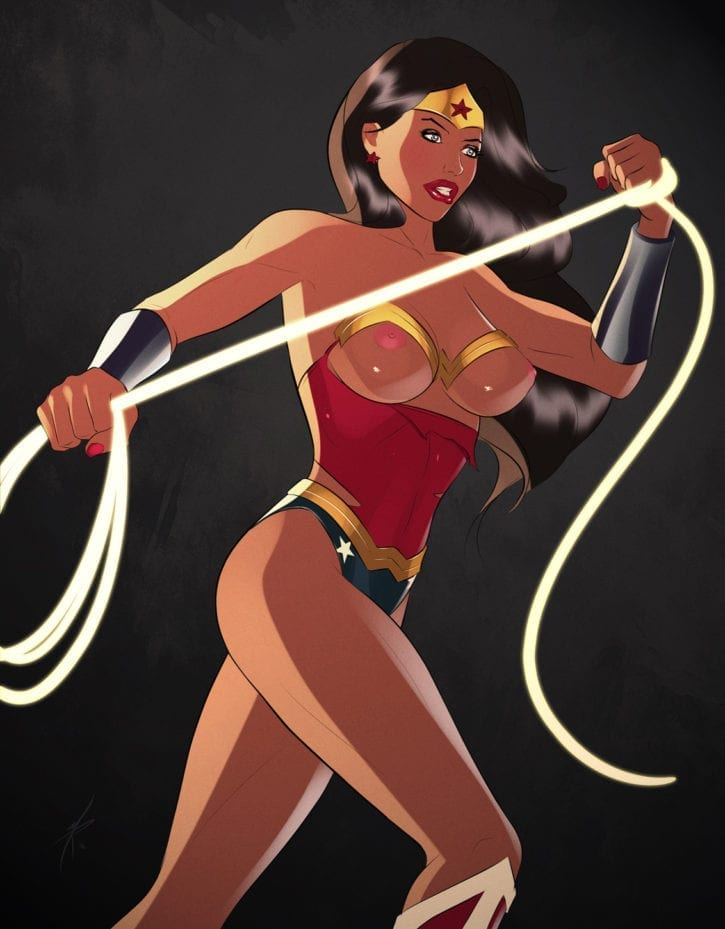 wonder woman rule 34