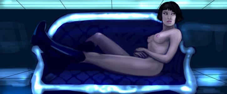 Quorra ~ Tron: Legacy Rule 34
