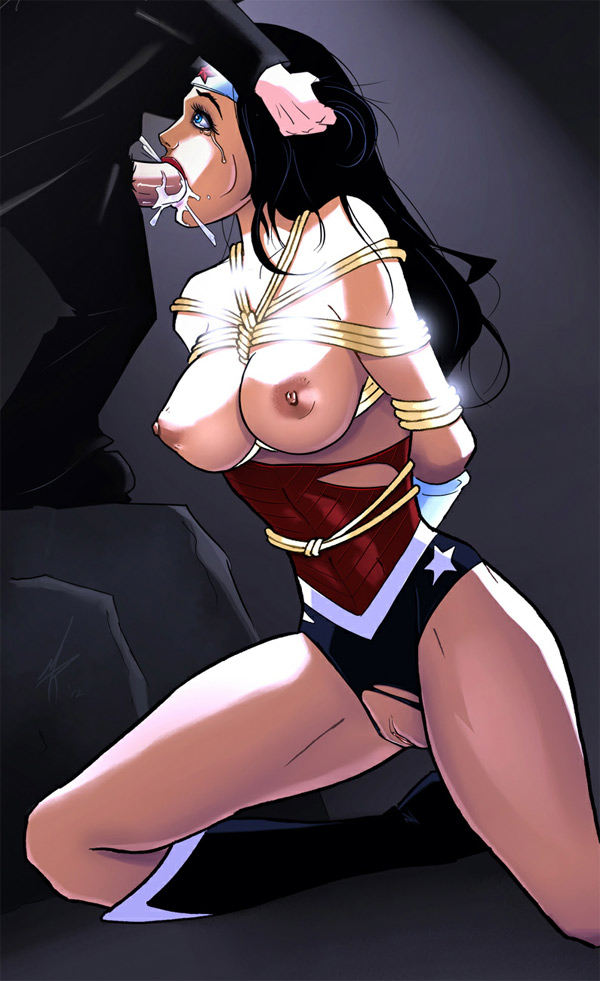 wonderwoman rule 34