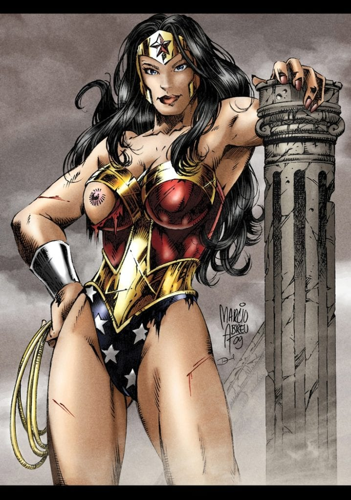 rule 34 wonder woman