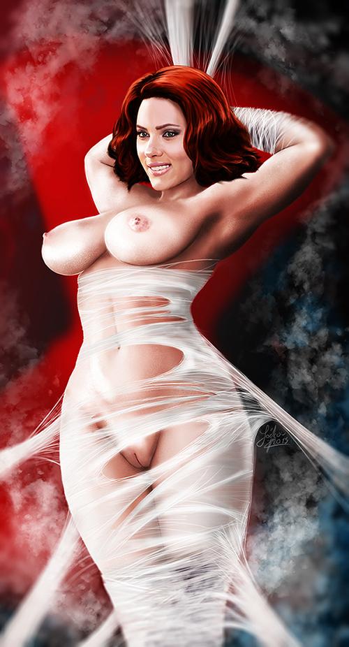 1661799 - Avengers Black_Widow Marvel Scarlett_Johansson Snugpug