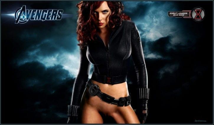 1698297 - Black_Widow Iron_Man Iron_Man_2 Marvel Scarlett_Johansson fakes