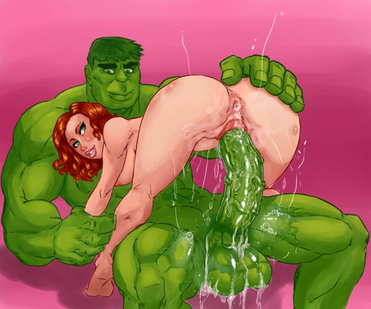 1726674 - Avengers Black_Widow Hulk Marvel VallZed