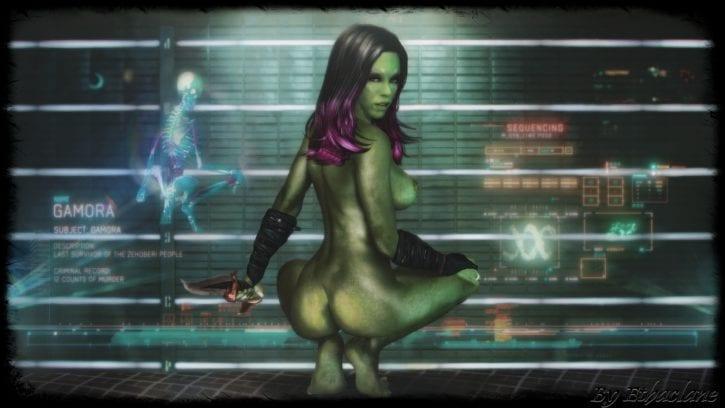 Порно арты стражи галактики