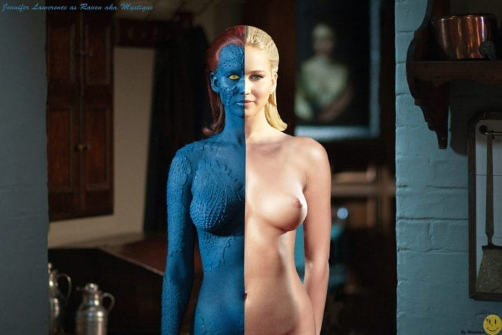 1846799 - Jennifer_Lawrence Marvel Mystique X-Men X-men_First_Class fakes