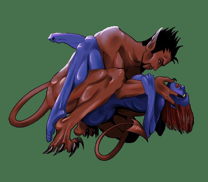 696620 - Azazel Marvel Mystique X-Men X-men_First_Class silvestervitale