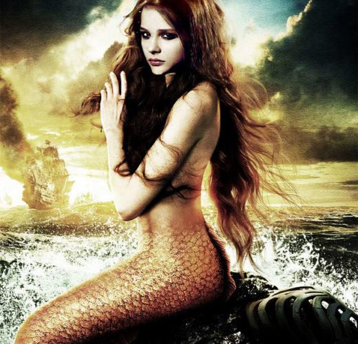 Chloe Grace Moretz as The Little Mermaid!