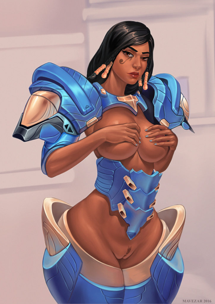 1889868 - Overwatch Pharah mavezar